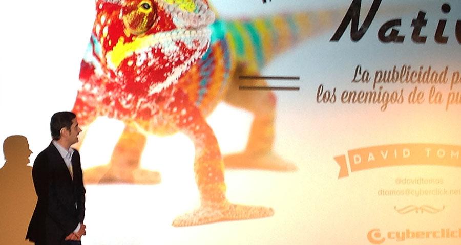 David Tomás habla sobre la publicidad nativa en el congreso Inbound Marketing en Madrid 2015
