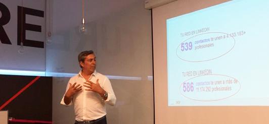 Álex López en el Máster de Marketing Digital de Fundesem 2015