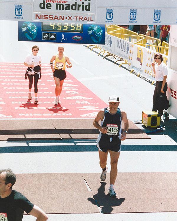Baldo Rodríguez entra en la Maratón de Madrid