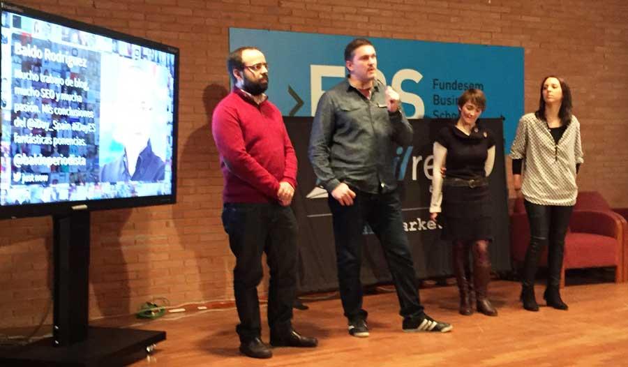 Miguel Florido, José Facchin, Elia Guardiola y María Sánchez, ponentes del iDay Alicante