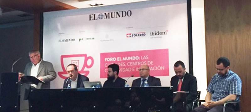 Mesa redonda sobre innovación en el foro de digitalización organizado por el diario El Mundo en Elche