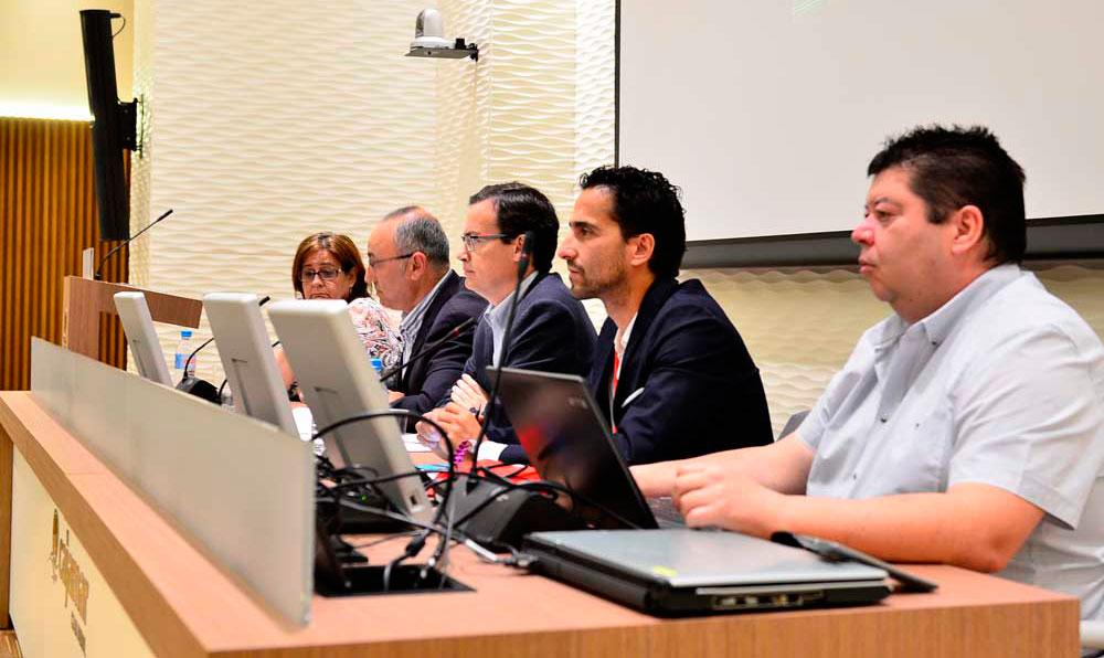 Primera mesa de las II Jornadas de Comunicación de Emergencias en Redes Sociales en la Región de Murcia