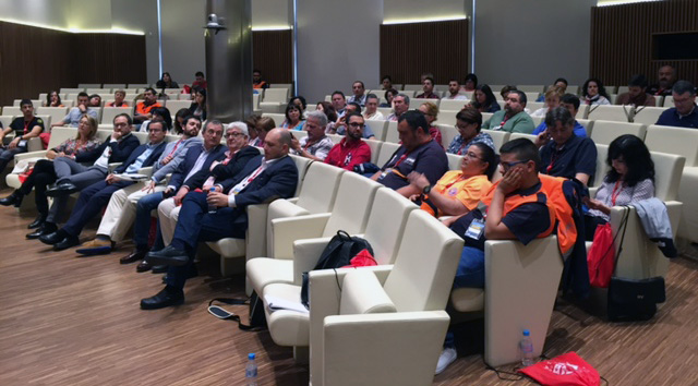 Público asistente a las II Jornadas de Comunicación de Emergencias en Redes Sociales en la Región de Murcia